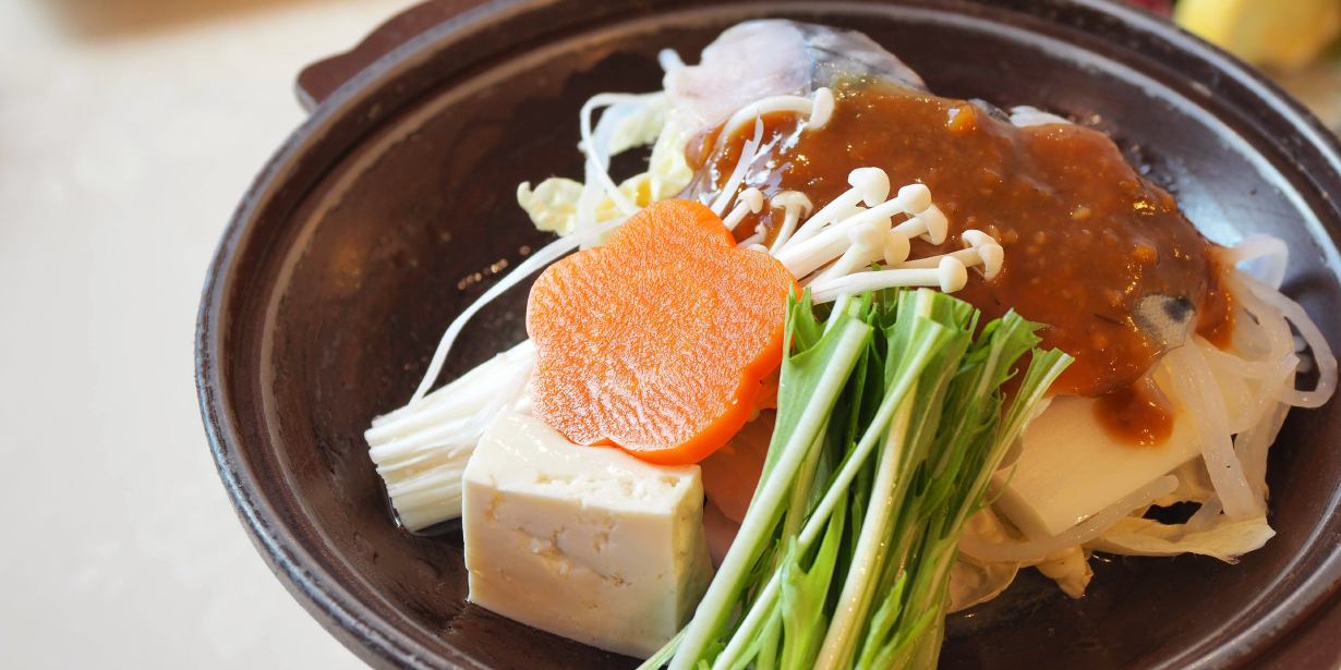 地魚の味噌焼き