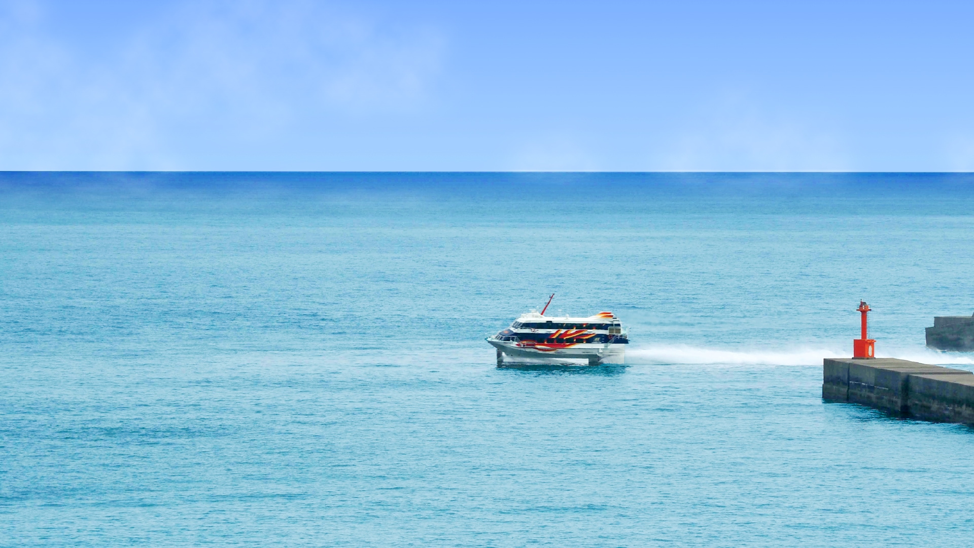 太平洋の大海原を望む眼前に広がるオーシャンビュー