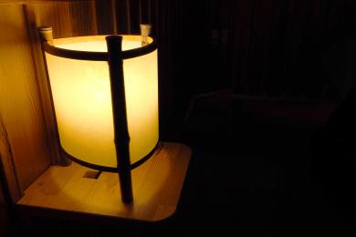 マッサージチェア付近ランプ